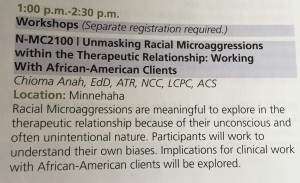Unmasking Racial Microaggressions within the Therapeutic Relationship